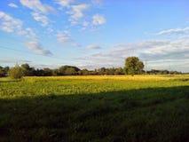 乌克兰美好的秋天 库存照片