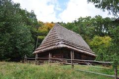 乌克兰老房屋建设 免版税库存照片