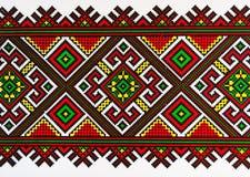 乌克兰装饰品。 库存照片