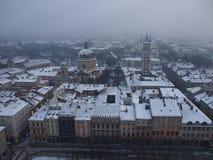乌克兰语利沃夫州! 免版税库存图片