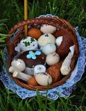 乌克兰语复活节baskets_10 免版税库存照片