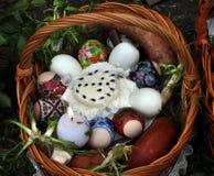 乌克兰语复活节baskets_12 免版税库存照片