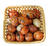 乌克兰语的复活节彩蛋 库存照片
