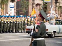 乌克兰语的战士 免版税库存图片