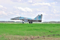 乌克兰语空军队米格-29 免版税库存照片