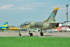乌克兰语空军队航空L-39 Albatros 库存照片