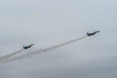 乌克兰语米格-29 免版税库存照片