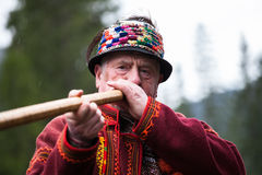 乌克兰语Hutsul 免版税库存图片
