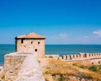 乌克兰,傲德萨地区 别尔哥罗德州德诺尔堡垒, Akkerman fo 库存图片