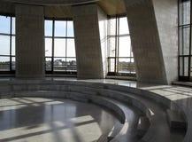 乌克兰,基辅- 2017年9月17日:大理石荣耀霍尔在乌克兰的历史的国家博物馆在II世界大战中 免版税库存图片