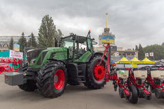 乌克兰,基辅- 2016年6月10日:展览国际农业的和工业的陈列 免版税库存照片