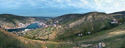 乌克兰,巴拉克拉法帽海湾  库存图片