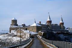 乌克兰, Kamenets-Podilsky 老堡垒 免版税库存图片