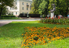 乌克兰, Khmelnitskiy,第二次世界大战纪念品 免版税库存照片