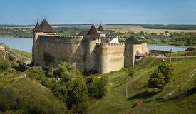 乌克兰, Khotyn,城堡 免版税图库摄影