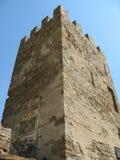 乌克兰 克里米亚 热那亚人的堡垒在Sudak 库存图片