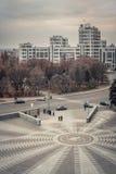 乌克兰 哈尔科夫 拉什哈巴德中央广场 免版税库存照片