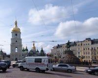 乌克兰 圣徒索菲娅的大教堂,基辅 图库摄影
