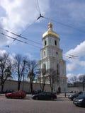 乌克兰 基辅 乌克兰 圣徒索菲娅的大教堂 阳台门poggioreale废墟 免版税图库摄影