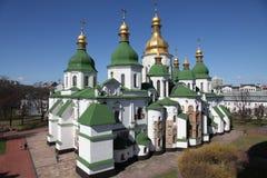 乌克兰 基辅 乌克兰 圣徒Sophias大教堂 阳台门poggioreale废墟 图库摄影