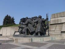 乌克兰 基辅 巨大爱国战争的博物馆纪念复合体  库存照片