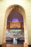 乌克兰 基辅 从独立maydana的种类对旅馆英国的 免版税库存照片