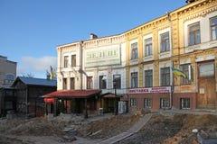 乌克兰 基辅 Andriyivskyy下降 免版税库存图片