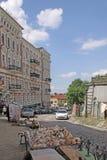 乌克兰 基辅 Andriyivskyy下降 免版税图库摄影