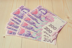 乌克兰货币 免版税库存图片