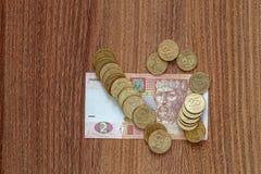 乌克兰货币hryvnia 库存照片
