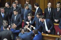 乌克兰总理弗拉基米尔Groisman_4 库存图片
