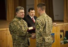 乌克兰总统Petro波罗申科 免版税库存照片