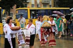 乌克兰` s美国独立日 免版税库存图片