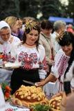 乌克兰` s美国独立日 免版税图库摄影