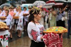 乌克兰` s美国独立日 图库摄影