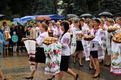 乌克兰` s美国独立日 免版税库存照片
