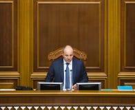 乌克兰Andriy Parubiy的Verkhovna Rada的主席 免版税库存图片