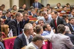 乌克兰Oleg Lyashko的激进党的领导人 免版税库存图片