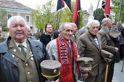 乌克兰people_的解放奋斗的参加者 图库摄影