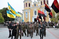 乌克兰people_的解放奋斗的参加者 免版税库存图片