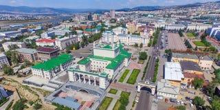 乌兰乌德视域  免版税库存图片