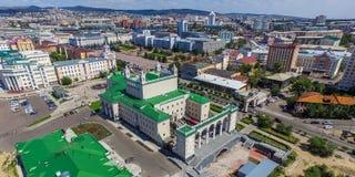 乌兰乌德视域  免版税图库摄影