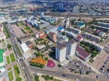 乌兰乌德视域  库存照片