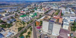 乌兰乌德视域  免版税库存照片