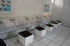 乌兹别克人浴,撒马而罕 免版税库存图片