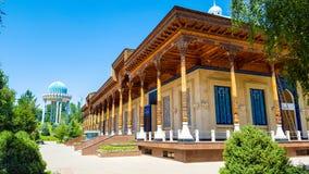 乌兹别克斯坦,塔什干,纪念对抑制的受害者记忆  免版税库存照片