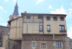 乌尔塔多de Andatarren dorrea, Vitoria-Gasteiz巴斯克地区 免版税库存照片