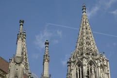 乌尔姆大教堂细节  库存图片
