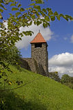 乌尔里希斯泰因-城堡 免版税图库摄影