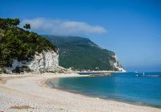 乌尔巴尼海滩 库存照片